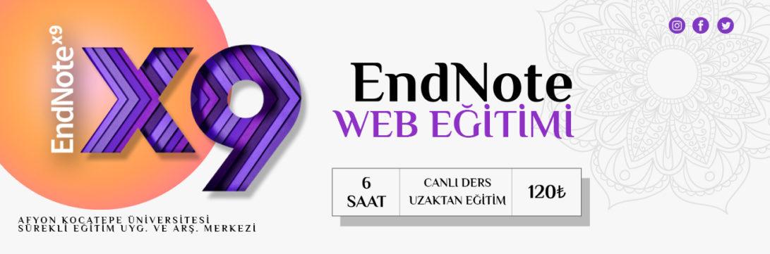 EndNote Web Eğitimi